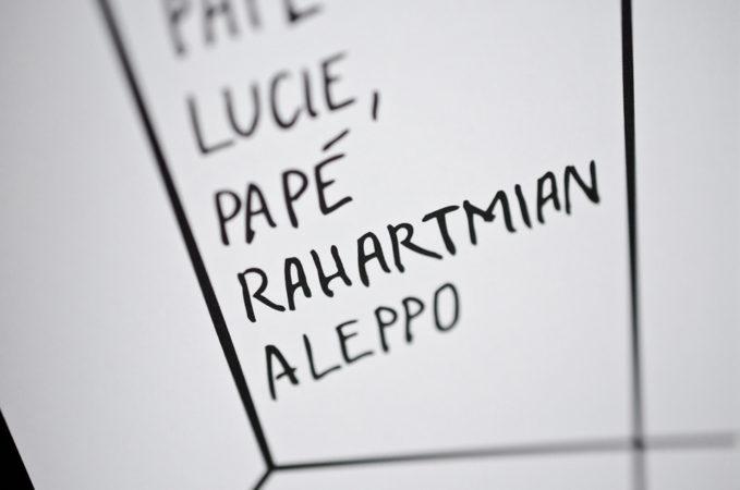 Detail Papé Lucie, Papé Rahartmian Aleppo