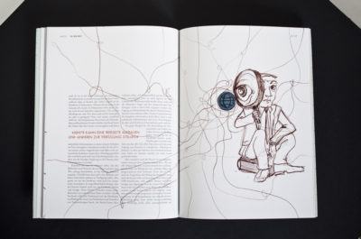 Layout & Illustration Macht im Netz